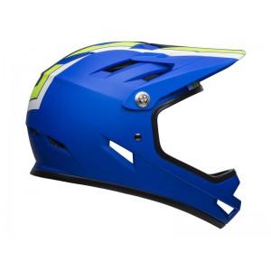 Kask rowerowy Bell Sanction Agility Matte Blue Green