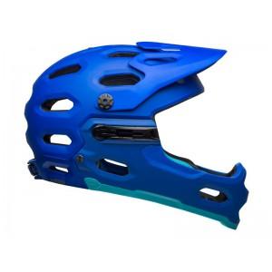 Kask rowerowy Bell Super 3R Mips Niebieski
