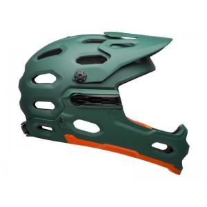 Bell Super 3R Mips Matte Green Orange