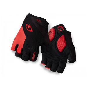 Rękawiczki rowerowe Giro Strade Dure SG White Black Bright Red