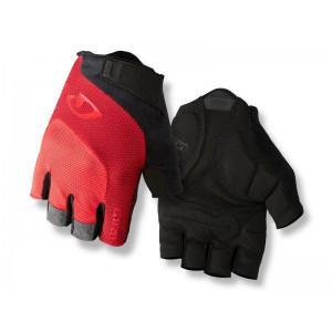 Rękawiczki rowerowe Giro Bravo Gel Bright Red Black