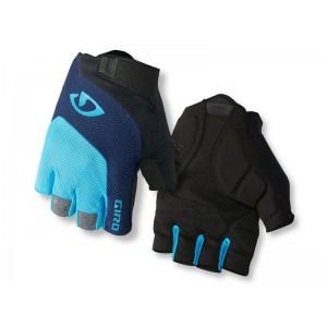 Rękawiczki rowerowe Giro Bravo Gel Blue Jewel Black