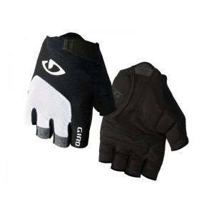 Rękawiczki rowerowe Giro Bravo Gel White Black