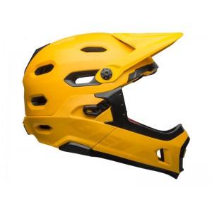 Kask rowerowy Bell Super Dh Mips żółty