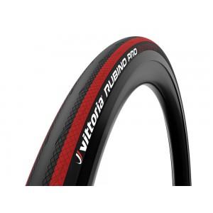 Vittoria Rubino Pro G2.0 700x25C Black-Red
