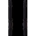 Wentyle do obręczy bezdętkowych Vittoria czarne aluminiowe 2szt. 60mm
