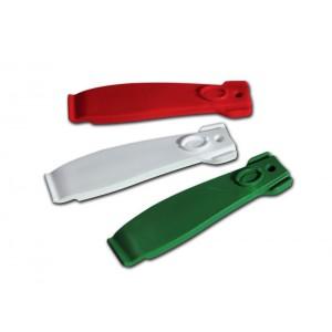 Zestaw łyżek do opon Vittoria w trzech kolorach.