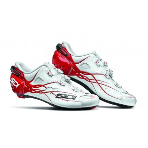 Sidi Shot White Red