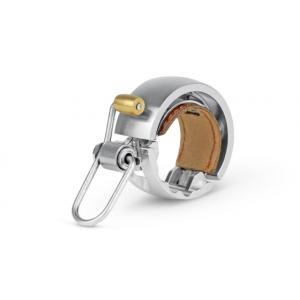 Dzwonek Knog OI Bell Luxe mały srebrny