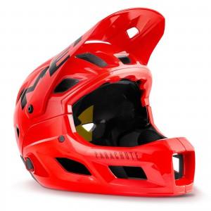 Kask rowerowy Met Parachute MCR Czerwony