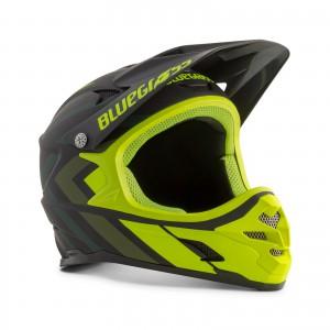Kask rowerowy Bluegrass Intox Czarno Żółty