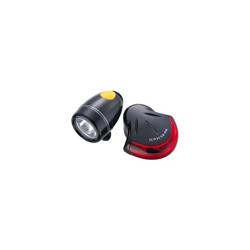 Topeak HighLite Combo II Black - zestaw oświetlenia
