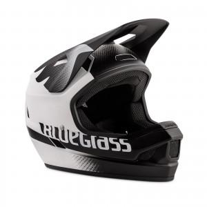 Kask rowerowy Bluegrass Legit Czarno Biały