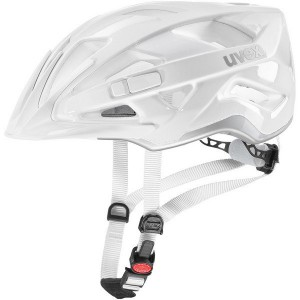 Kask rowerowy Uvex Active White Silver