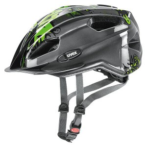 Kask Uvex Quatro Junior Anthracite-Green