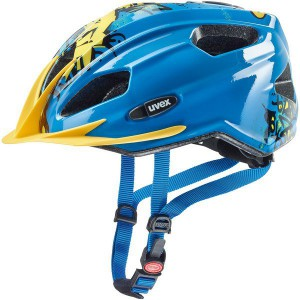 Kask Uvex Quatro Junior Blue Yellow