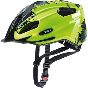 Kask Uvex Quatro Junior Neon Yellow Black