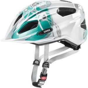 Uvex Quatro Junior White Teal