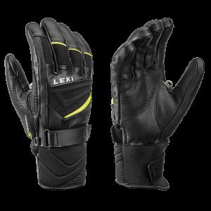 Rękawice Leki Griffin S Black/Neon