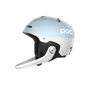 Kask POC Artic SL Spin Dark Kyanite Blue z gardą