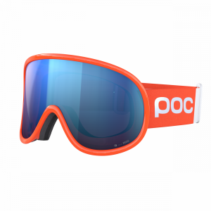 POC Retina Big Clarity Comp Fluorescent Orange / Spektris Blue