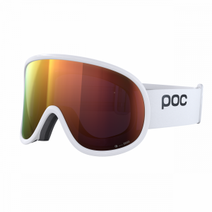POC Retina Big Clarity Hydrogen White / Spektris Orange