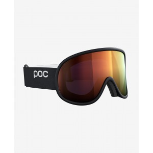 POC Retina Big Clarity Uranium Black / Spektris Orange