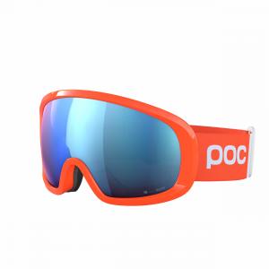 POC Fovea Mid Clarity Comp Fluorescent Orange / Spektris Blue