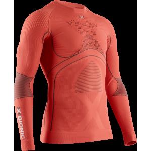 Koszulka Męska X-Bionic Energy Accumulator 4.0 Orange/Anthracite