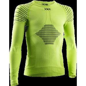 Koszulka X-Bionic Invent 4.0 Junior Green Lime/Black