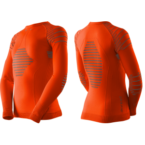 Koszulka X-Bionic Invent 4.0 Junior Sunset Orange/Anthracite