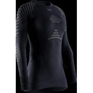 Koszulka damska X-Bionic Invent 4.0 Black/Charocal