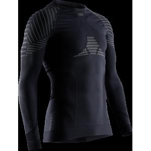 Koszulka męskie X-Bionic Invent 4.0 Black/Charocal