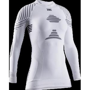 Koszulka damska X-Bionic Invent 4.0 White/Black