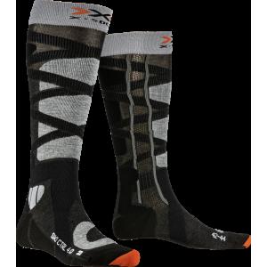 Skarpety X-Socks Ski Control 4.0 Anthracite Melange/Stone Grey Melange