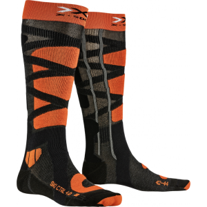 Skarpety X-Socks Ski Control 4.0 Anthracite Melange/Orange