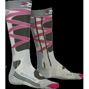 Skarpety X-Socks Ski Control 4.0 WMN Grey Melange/Charocal
