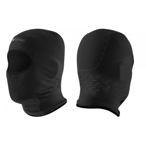 Kominiarka X-Bionic StormCap Face 4.0 Black/Charocal