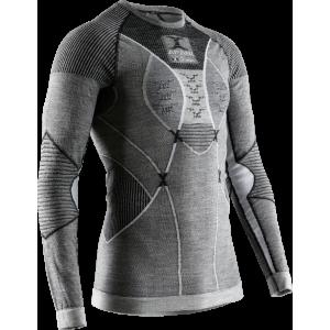 Koszulka męska X-Bionic Apani 4.0 Merino Black/Grey/White