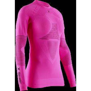 Koszulka damska X-Bionic Energizer 4.0 Neon Flamingo/Anthracite