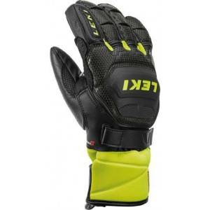 Rękawice Leki WorldCup Race Flex S Junior Black/Lemon