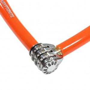 Zapięcie Kryptonite Keeper 665 CC 6 mm/65 cm pomarańczowy