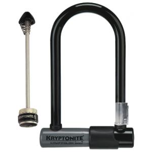 Kryptonite Kryptolok Series2 Mini 7 8.2x17.8cm mount+Wheelboltz Front
