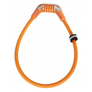 Kryptonite Kryptoflex 1265 CC 12mm/65cm combination lock orange