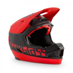 Kask rowerowy Bluegrass Legit Carbon Czerwony