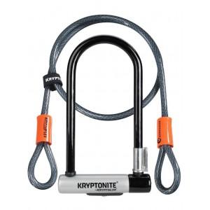 Kryptonite Kryptolok STD+ Kryptonite Kryptoflex 10mm/120 with Flexible Mount