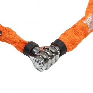 Zapięcie Kryptonite Keeper 465 CC 4 mm/65 cm pomarańczowy