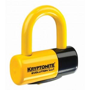 Kryptonite Evolution Series 4 Disc Lock 4.8x5.4cm yellow