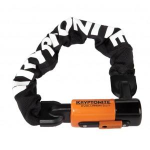 Zapięcie Kryptonite Evolution Series 4 1055 Chain 55 cm łańcuch z kłódką