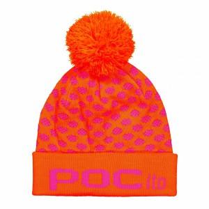 Czapka POC Pocito Pom Pom Beanie Fluorescent Pink / Orange